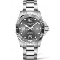 Longines - HydroConquest 43mm Grey Ceramic & Steel - L37824766