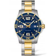 Longines - HydroConquest 41mm Blue Steel & Gold PVD - L37403967