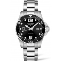 Longines - HydroConquest 43mm Black Ceramic & Steel - L37824566