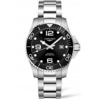 Longines - HydroConquest 43mm Black Ceramic & Steel Bracelet L37824566
