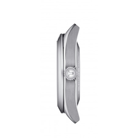 Tissot - Gentleman Powermatic 80 Silicium Silver & Stållänk 40mm - T1274071103100