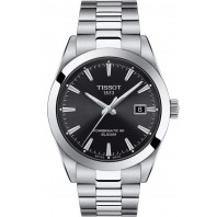 Tissot - Gentleman Powermatic Silicium Black & Steel 40mm - T1274071105100