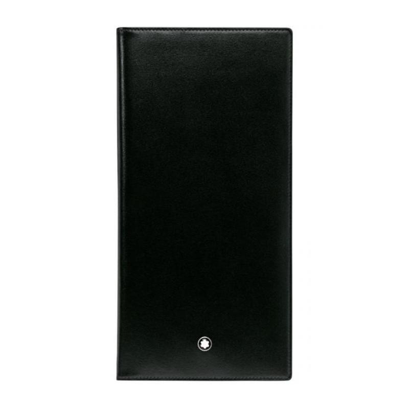 Montblanc - Meisterstück Large Black Leather Wallet - 6 pockets - 35790