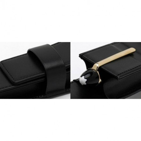 Montblanc - Meisterstück Pen Pouch with clasp - 14309