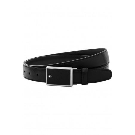 Montblanc - Meisterstück Black Saffiano Leather Belt - 114421