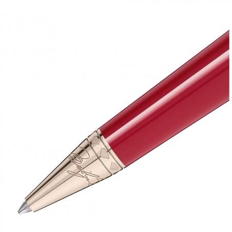 Montblanc - Marilyn Monroe Red & Gold Ballpoint Pen 116068