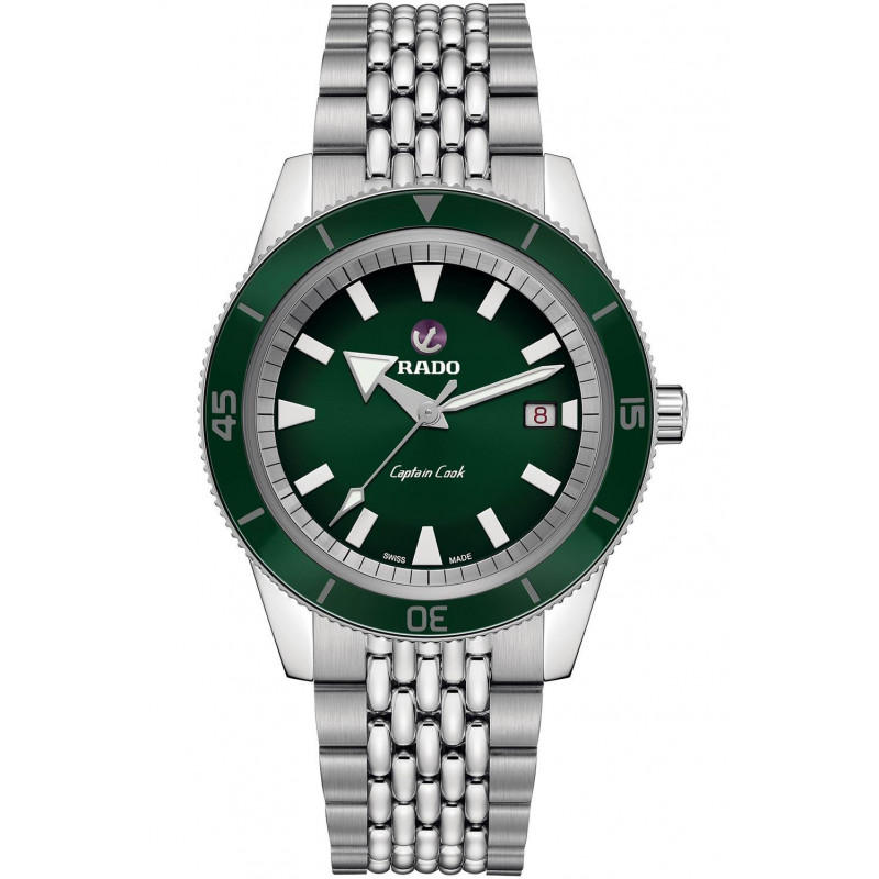 Rado -  Captain Cook Automatic Green & Bracelet R32505313