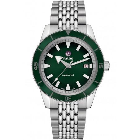 Rado -  Captain Cook Automatic Green & Bracelet R32505313