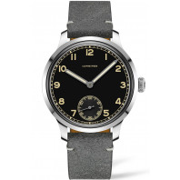 Longines - Heritage Military 1938 Ltd Svart & Läderband L28264532