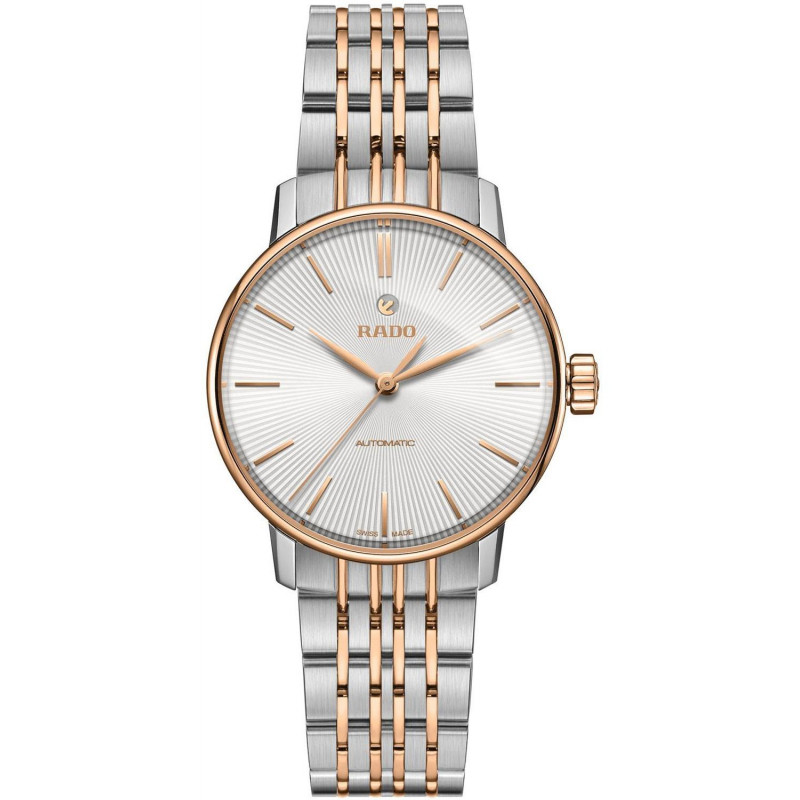 Rado - Coupole Classic 32mm Automatic Steel & Rose Gold Bracelet R22862027