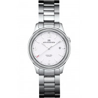 Sjöö Sandström - Royal Steel Classic 41mm Men's White & Steel 008607