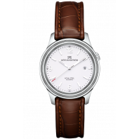 Sjöö Sandström - Royal Steel Classic 41mm Men's White & Alligator strap 008591