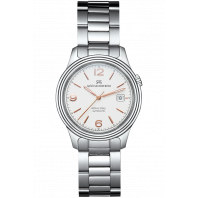 Sjöö Sandström - Royal Steel Classic 41mm Men's White & Steel, Rose gold Index 008935