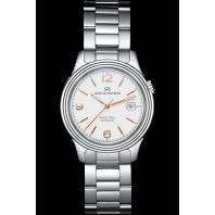 Sjöö Sandström - Royal Steel Classic 41mm White Dial, Steel & Rose gold Index 008935