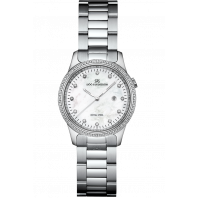 Sjöö Sandström - Royal Steel Classic 32mm Mother of Pearl, 80 Diamonds & Steel 007716