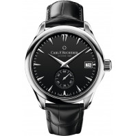Carl F. Bucherer - Manero Peripheral Chronometer In-House Automatic Men's Watch Black & Alligator 00.10917.08.33.01