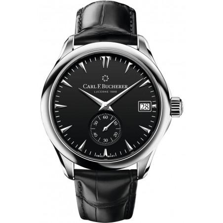 Carl F. Bucherer - Manero Peripheral Chronometer In-House Automatisk Herrklocka Svart & Alligator 00.10917.08.33.01