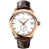 Carl F. Bucherer - Manero Peripheral Chronometer In-House Automatisk Herrklocka 18K Rose guld & Vit 00.10917.03.23.01