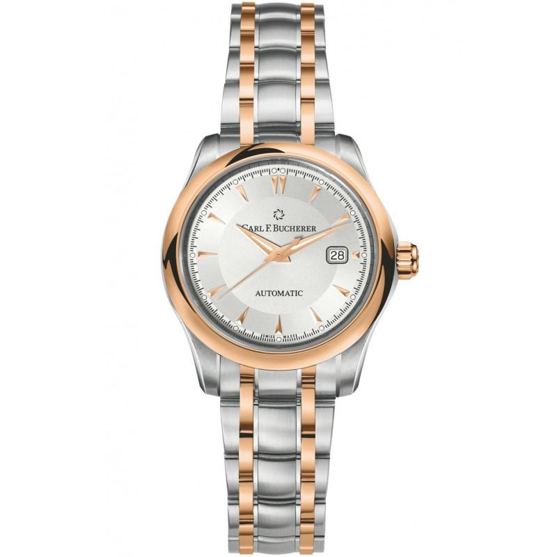 Carl F. Bucherer - Manero Automatic Lady's Date Steel & Rose gold 00.10911.07.13.21
