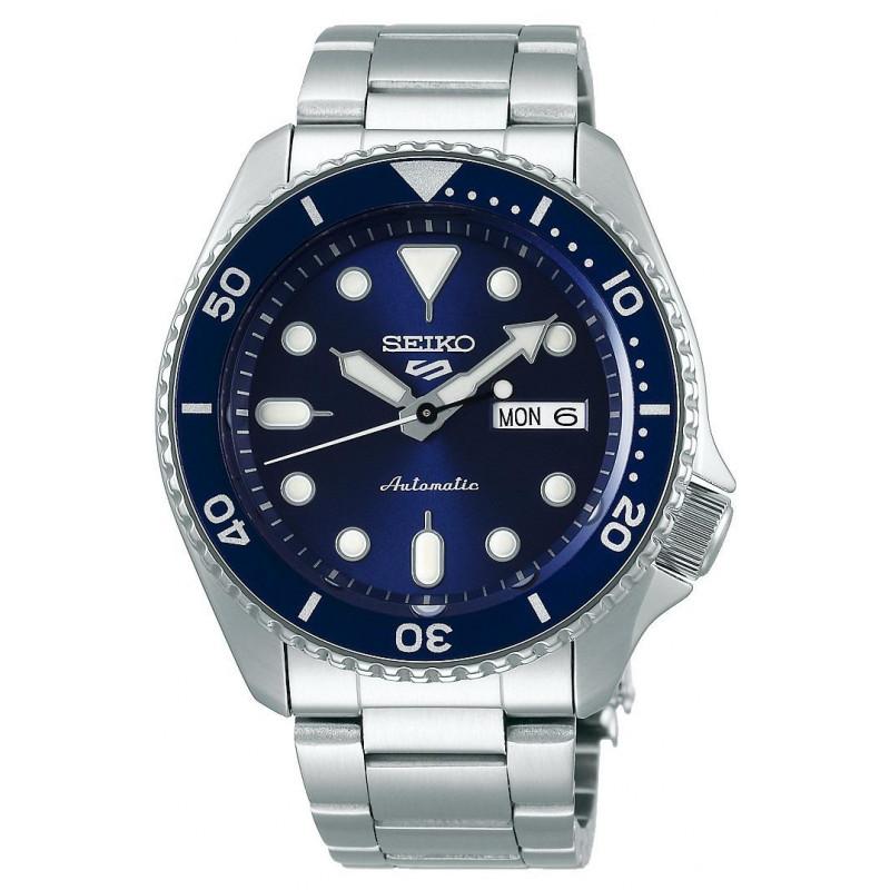 Seiko - 5 Sports 43mm Automatic Blue & Steel Divers watch SRPD51K1