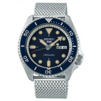 Seiko - 5 Sports 42.5mm Automatic Blue & Mesh Bracelet SRPD71K1