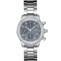 Sjöö Sandström - Royal Steel Chronograph 42mm Metalic grey & Steel Bracelet 012758