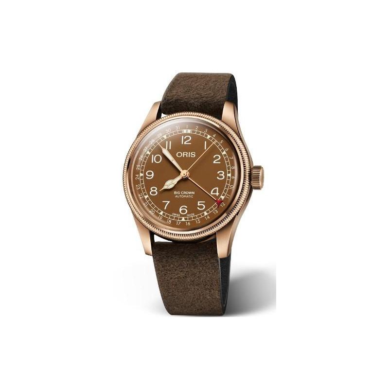 Oris - Big Crown Bronze Pointer Date Brown 01 754 7741 3166-07 5 20 74BR