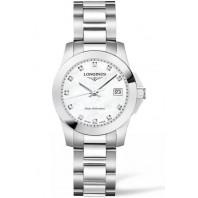 Longines - Conquest Quartz 29.5mm Mother of Pearls & Diamonds L33764876