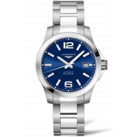 Longines - Conquest 39mm Blue & Steel L37764996