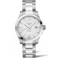 Longines - Conquest 39mm Automatic Silver & Steel L37764766