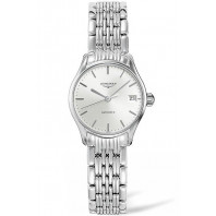 Longines Lyre 25mm Silver & Steel Lady's Watch,L43604726