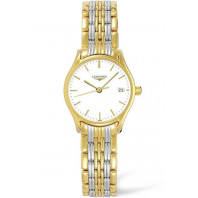 Longines Lyre 25mm Quartz Steel & Gold PVD Lady's Watch,L42592127