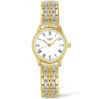 Longines Lyre 25mm Quartz Steel & Gold PVD Lady's Watch, L42592117