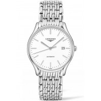 Longines Lyre 38,5mm White & Steel Gent's Watch,L49604126