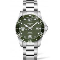 Longines - HydroConquest 41mm Green Ceramic & Steel Bracelet L37814066