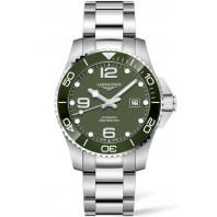 Longines - HydroConquest 43mm Green Ceramic & Steel L37824066