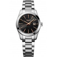 Longines - Conquest Classic 29.5mm Black & Rose gold L22864526
