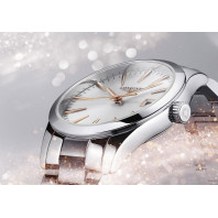 Longines - Conquest Classic 34mm Silver & Rose gold L23864726