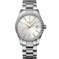 Longines - Conquest Classic 34mm Diamanter & Rose guld index L23860726