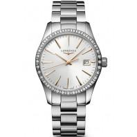Longines - Conquest Classic 34mm Diamanter & Rose guld index L23860726