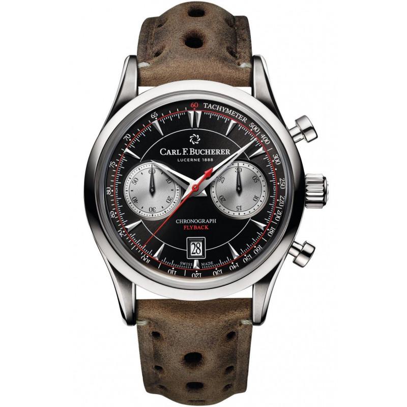 Carl F. Bucherer - Manero Flyback Chronograph Black & Silver 00.10919.08.33.02