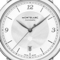 Montblanc - Star Legacy 39mm Silver & Alligator band 119957