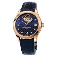 Frédérique Constant Ladies Automatic Heart Beat & Rose Guld Blå urtavla FC-310NDHB3B4