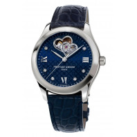 Frédérique Constant Ladies Automatic Heart Beat & Rose Guld Blå urtavla FC-310NDHB3B6