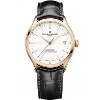 Baume & Mercier - Baumatic COSC 18K Rose Gold & Alligator strap 10469