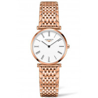 Longines La Grande Classique 29mm White & Full rose gold pvd,  L45121918