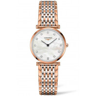 Longines La Grande Classique 29mm 12 Diamonds Mop & Rose gold Pvd, L45121977