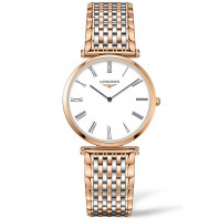Longines La Grande Classique 33mm White & Rosegold Pvd women's watch,L47091217