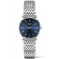 Longines La Grande Classique 29mm Roman numerals Blue & Steel women's watch,L45124946