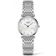 Longines - La Grande Classique 29mm 12 Diamonds Mop & Steel,L45124876